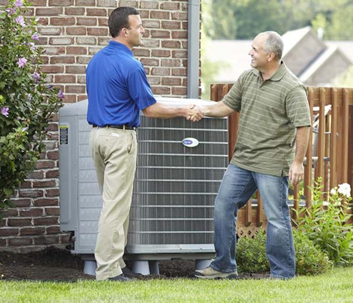 air conditioner maintenance in The Woodlands, TX